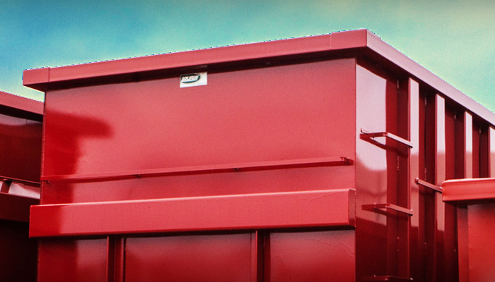 Dumpster rental, dry and residual waste management for contractors or commercial use - Laval, Montreal, Laurentides